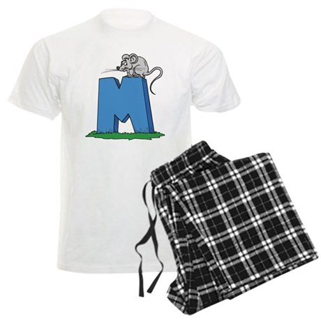 M For Mouse Men's Light Pajamas
