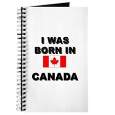I Was Born In Canada Journal