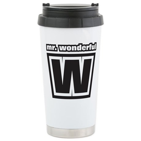 Mr. Wonderful Stainless Steel Travel Mug