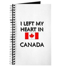 I Left My Heart In Canada Journal