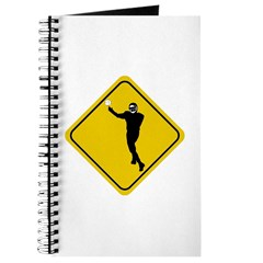 Football Crossing Sign Journal