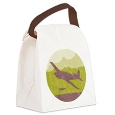 Fly Pass Canvas Lunch Bag