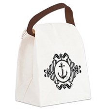 Anchor Crest Canvas Lunch Bag