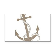 anchor Rectangle Car Magnet