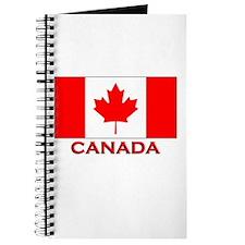 Canada Flag Merchandise Journal