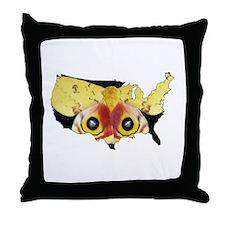 National Moth Week Throw Pillow