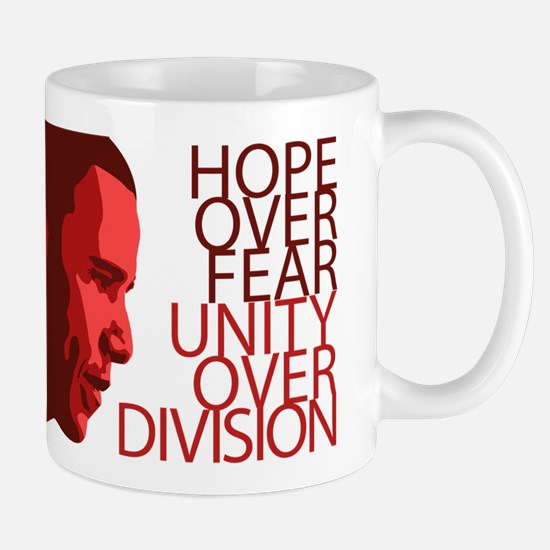 Obama Red Tones Mug