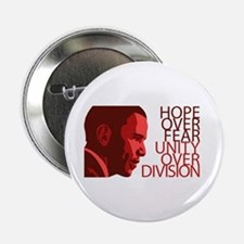 "Obama Red Tones 2.25"" Button"