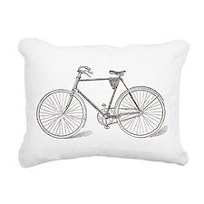 Vintage Bicycle Rectangular Canvas Pillow