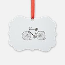 Vintage Bicycle Ornament