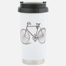 Vintage Bicycle Stainless Steel Travel Mug