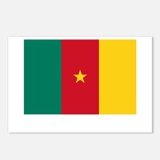Cameroon Flag Picture Postcards (Package of 8)