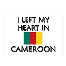 I Left My Heart In Cameroon Postcards (Package of