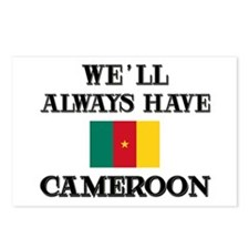 We Will Always Have Cameroon Postcards (Package of