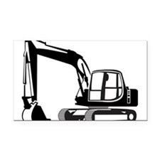 Earth Mover Rectangle Car Magnet