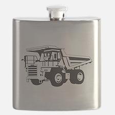Dump Truck Flask
