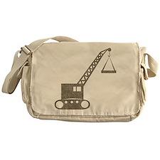 Vintage crane Messenger Bag