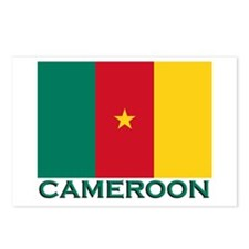 Cameroon Flag Merchandise Postcards (Package of 8)