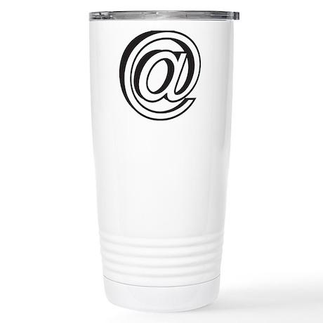 @ Stainless Steel Travel Mug