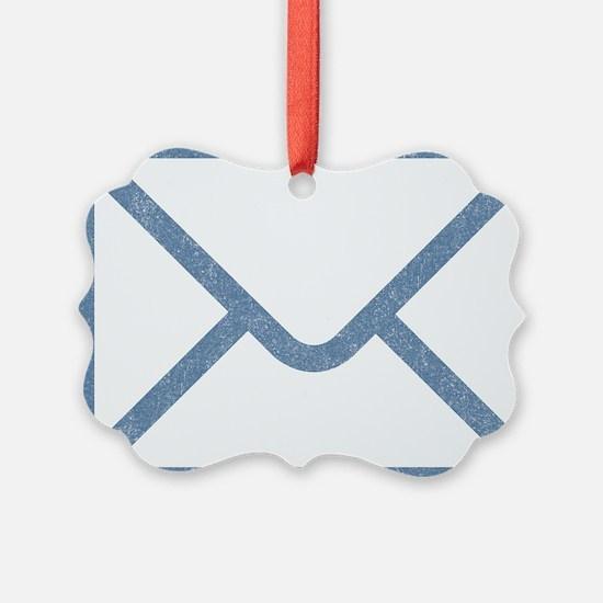 Vintage Email Ornament
