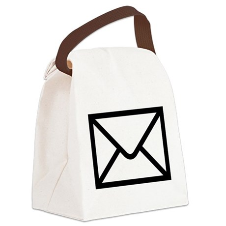 Email Canvas Lunch Bag
