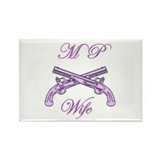 mp wife Rectangle Magnet