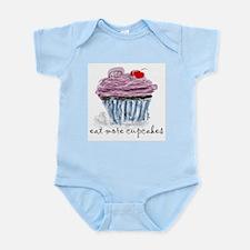eat more cupcakes Onesie