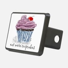 eat more cupcakes Hitch Cover
