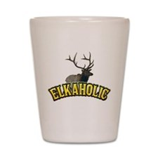 elkaholic Shot Glass