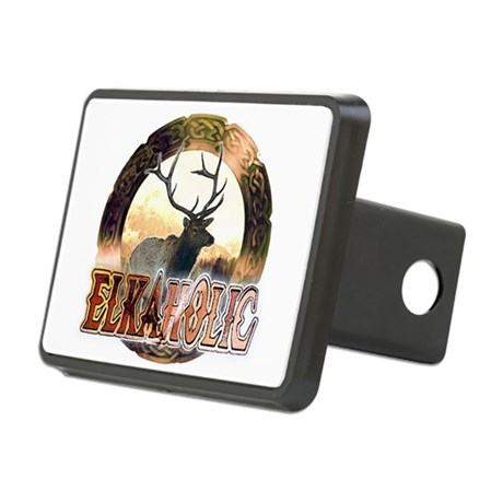 Elkaholic Rectangular Hitch Cover