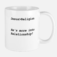 Jesus Is Greater Than Religion Mug