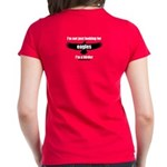 I'm not just looking for eagles! Women's Dark T-Sh