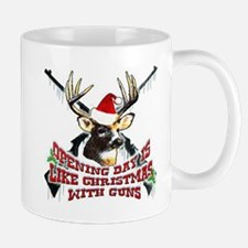 opening day is like christmas with guns Mug