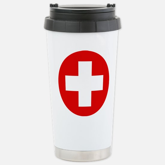 First Aid Kit Stainless Steel Travel Mug