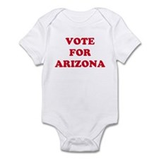 VOTE FOR ARIZONA Infant Bodysuit