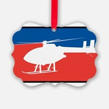 Feedom Helicopter Ornament