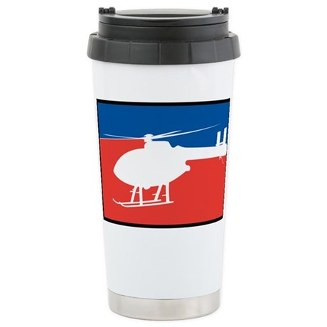 Feedom Helicopter Stainless Steel Travel Mug