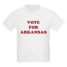 VOTE FOR ARKANSAS Kids T-Shirt