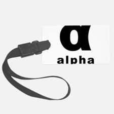 Alpha Luggage Tag