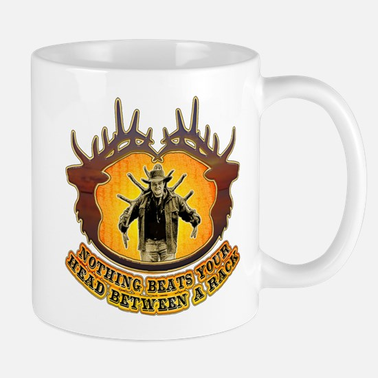 nothing beats your head between a rack Mug