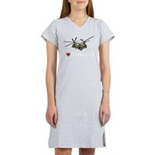 I Love Chinooks Women's Nightshirt