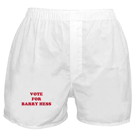 VOTE FOR BARRY HESS Boxer Shorts