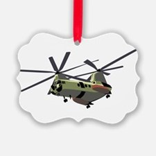Transport Helicopter Ornament