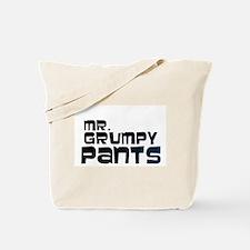 Mr Grumpy Pants Tote Bag