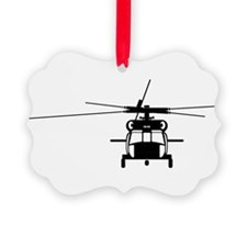 Black Hawk Ornament