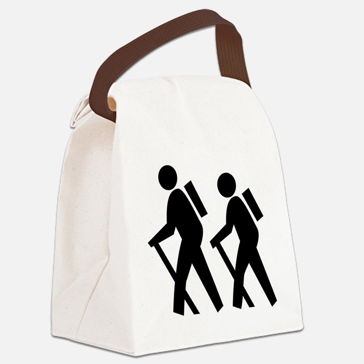 Hiking Canvas Lunch Bag