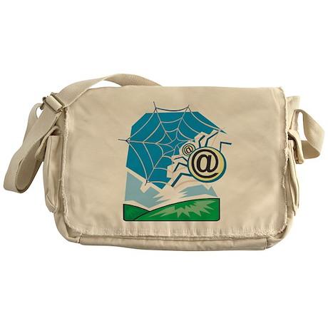 Web World Messenger Bag