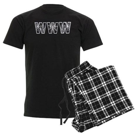 www Men's Dark Pajamas