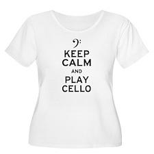 Keep Calm Cello T-Shirt