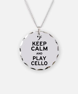 Keep Calm Cello Necklace